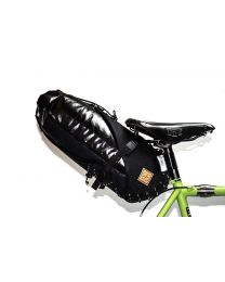 Restrap Carry Saddle bag & Dry bag - Black/Black