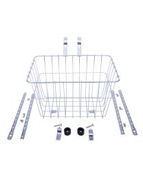 Wald 1352 Medium Plus Basket - Silver