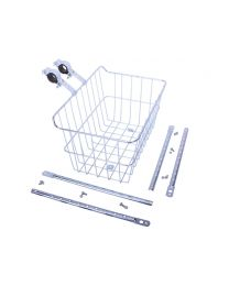 Wald 1512 Drop Top Basket - Silver
