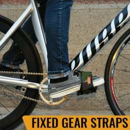 fixedgera, fixie, singlespeed, straps, lockdown, blb, cinelli